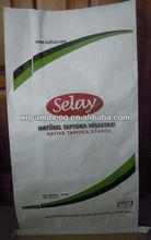 Kraft- polypropylene packing sacks,Laminated materials packing sacks,Paper composit PP feeds packing