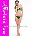 stripless yeşil Halka ortasında Kızların sıcak seks bikini