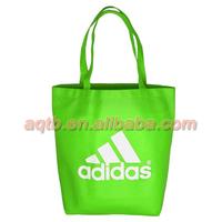 green color non woven shopping bag