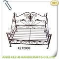 de metal antiguo camas de animales domésticos