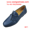 Soft cowhide genuine leather mens casual shoes in factory price