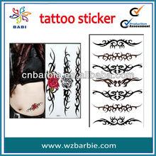 glowing tattoo sticker/color tattoo