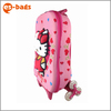 3D EVA Hello Kitty kids luggage for School trolley bag