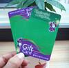 Plastic Gift Card Printing Cheap China Supplier
