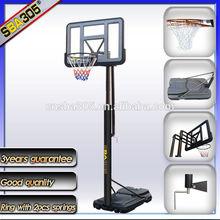 SBA305 -S021 portable basketball set /basketball stand are sold abroad;