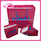 customized packing paper bag for clothes with handles