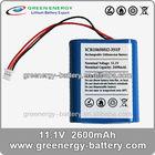aw 18650 battery ICR18650H2-3S1P rechargable li-ion batteries 2600mah good quality li-ion battery