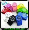 2014 Fashion wholesale adults kids silicone slap watches with snap band
