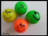 smile face mini size hi bouncing ball
