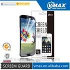 Phone screen protector transparent membrane for Samsung galaxy s4 i9500 oem/odm(Anti-Fingerprint)