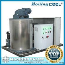 Stainless steel 316 marine flake ice machine 2000kg/day