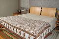 Coton imprimé quilt/matelassé. couverture couvre lit king size