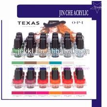 nail polish acrylic display clear