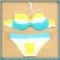 المرأة الزرقاء ملابس السباحة وصول جديدة بيكيني المايوه البيكيني بحر النساء strappy مثير بملابس السباحة