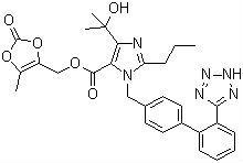 Olmesartan Medoxomi I(CAS#144689-63-4)Anti-hypertension
