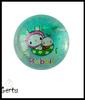 TPU bouncing ball , flashing glitter ball