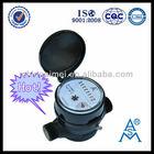 Single Jet Dry Dial Digital Water flow Meter LXSC-13S