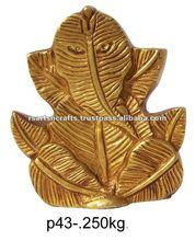ganesha in leaf