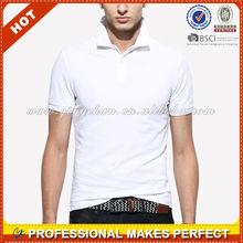 Men's High Quality Dri Fit wholesale custom logo polo shirt