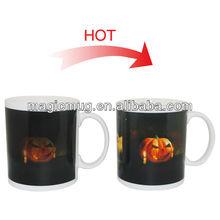 Factory sale high quality ceramic mug halloween mugs