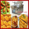 Alta eficiência açoinoxidável batata frita batatasfritas/máquina de furar