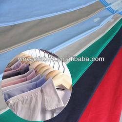 fashion dyed stretch cotton poplin
