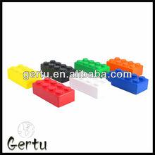promotional pu foam brick stress toy