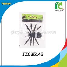 wholesale spider toy black pile coating spider halloween