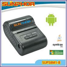 wireless bluetooth ticket printer/mobile small bluetooth printer(SUP58M1-B )