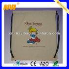 High quality cheap customized drawstring bags cotton