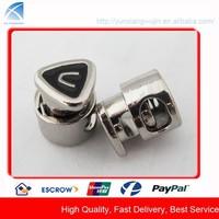 CD8723 Metal Adjustable Custom Made Cord Lock for Garments