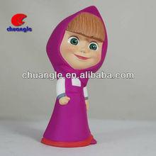 Little girl doll models, plastic vinyl doll