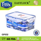EASY LOCK PP plastic food container, air tight, BPA free