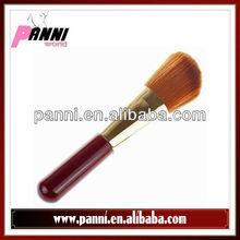 Promotable red wooden handle brush single brush make up brushes