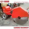 Honda manual walk behind concrete cutter machine for road cutter