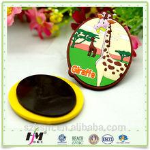 Customized Soft Plastic Resin PVC Souvenir Fridge Magnet