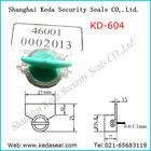 Security Seals twist lock Water Meter Seals polycarbonate laser printing KD-604