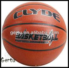 pu basketball for machine,street basketball