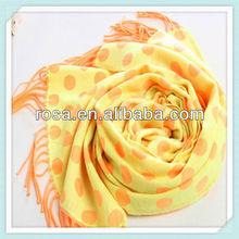 RWJ109 dot pattern printed fashion scarf fashion ladies scarf pashmina shawl