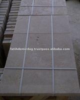 Classic Light Travertine - Tumbled - Pattern Set 12 mm - travertine tiles from FADE MARBLE & TRAVERTINE