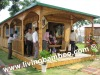 BEAUTIFUL VILLAGE BAMBOO HOUSE WITH DURABLE, SOLID