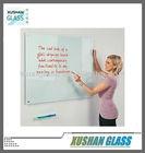 school anti-glare glass whiteboard with pen shelf in 1200x1800mm in white color