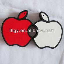 2013 new design apple usb pendrive 4gb/apple usb/apple shaped usb flash drive