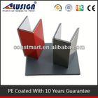 interior used PE aluminum cladding panel installation