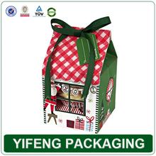wholesale custom mini packaging cardboard paper cupcake boxes cheap