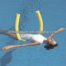 Swim Pool noodle vinyl coated foam noodle Water Fitness Float