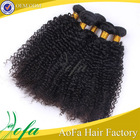 2014 Most popular mongolian kinky curly hair weft