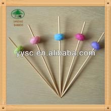 Cute Cartoon Bamboo Food Picks
