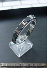 Excellent Maximum Upgrade of Body Health! Germanium Negative Ion Bracelet. Model: GS-022 Black