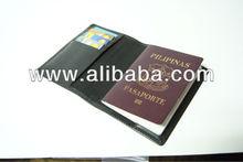Leather Passport Jacket